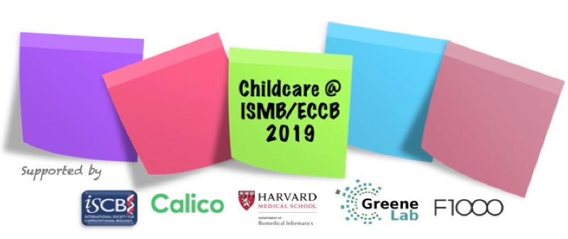 Childcare at ISMB/ECCB 2019