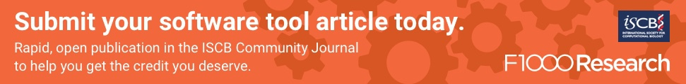 Call for Papers: Publish your software tools in the ISCB Community Journal