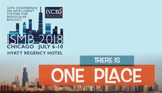 ISMB 2018 - There is ONE Place!  Watch & listen to learn more!