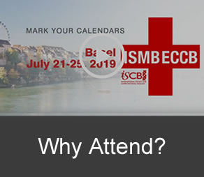 ISMB/ECCB 2019 - Why Attend?
