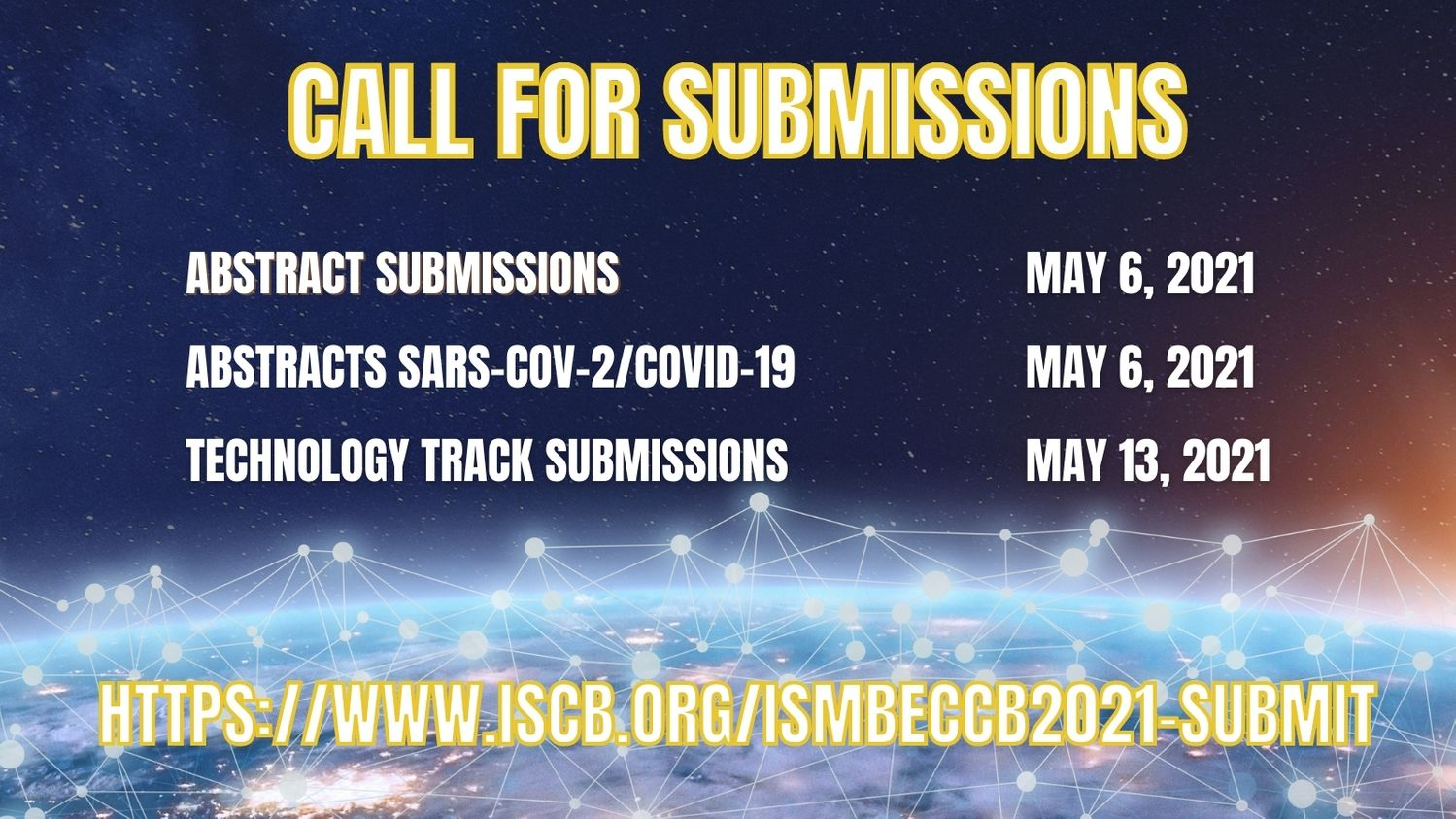 ISMB/ECCB 2021: Call for Submissions!