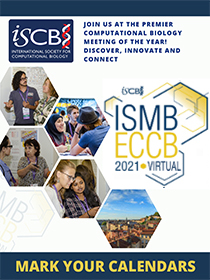 ISMB/ECCB 2021, July 25 - 30, 2021, Virtual Conference