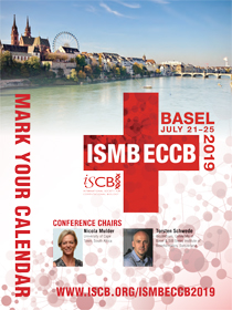 ISMB/ECCB 2019, Basel, Switzerland, July 21 - July 25