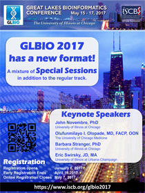 GLBIO 2017 - Great Lakes Bioinformatics Conference