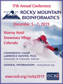 Rocky 2019 - 17th Annual Rocky Mountain Bioinformatics Conference