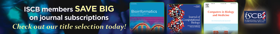 ISCB SAVE BIG on Journal Subscriptions!