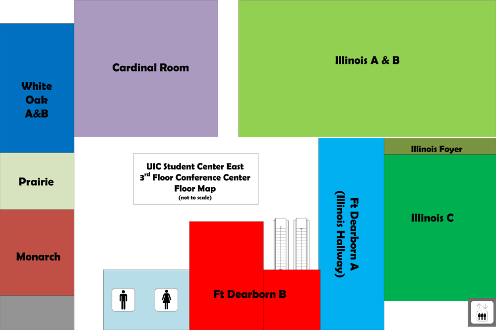 SCE 3rd Floor Conference Center Floor Map
