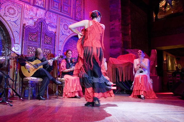 Alhambra Palace, Flamenco Dancers Credit: ©Choose Chicago