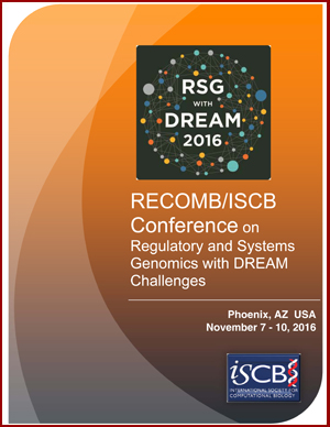 RECOMB/ISCB Conference on Regulatory and Systems Genomics with DREAM Challenges and Cytoscape Workshop