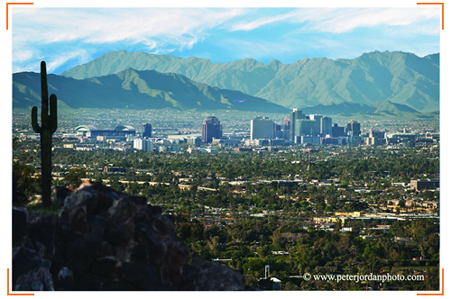 Phoenix Skyline, by Peter Jordan Photo