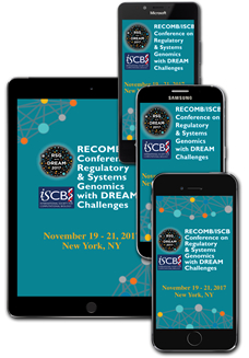 Download the RECOMB/ISCB RSG with Dream 2017 MOBILE APP!