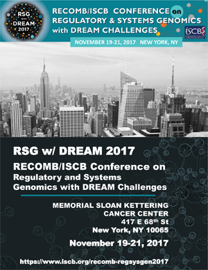 RECOMB/ISCB Conference on Regulatory and Systems Genomics with DREAM Challenges