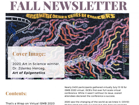 ISCB Fall 2019 Newsletter!