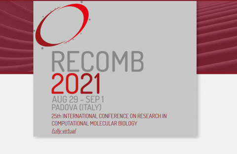 RECOMB 2021 Call for Papers